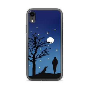 Dachshund Moon - iPhone Case - WeeShopyDog