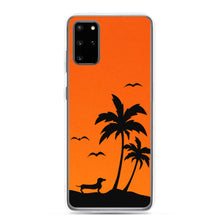 Load image into Gallery viewer, Dachshund Palm Tree - Samsung Case