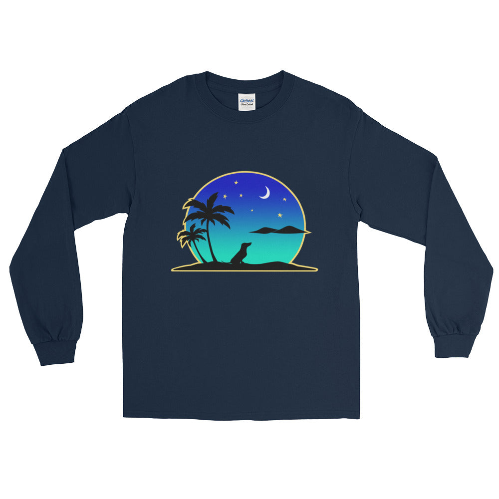 Dachshund Islands - Long Sleeve T-Shirt - WeeShopyDog