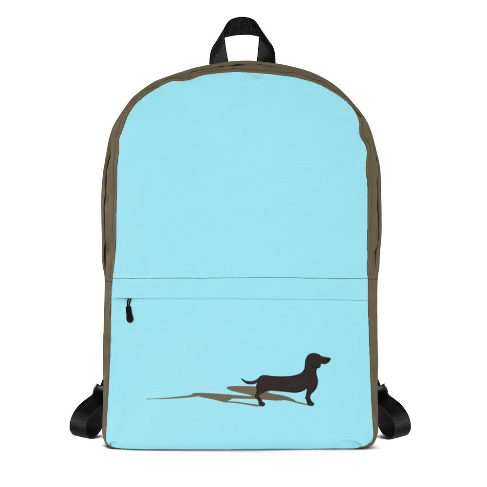 Dachshund Shadow - Backpack - WeeShopyDog