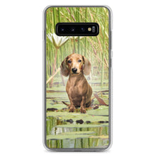 Load image into Gallery viewer, Dachshund Lotus - Samsung Case - WeeShopyDog