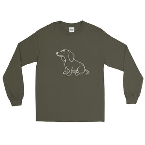 Dachshund Dreamer - Long Sleeve T-Shirt - WeeShopyDog