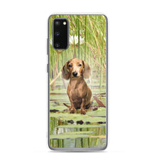 Load image into Gallery viewer, Dachshund Lotus - Samsung Case