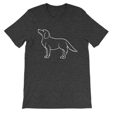Load image into Gallery viewer, Golden Retriever Up - Unisex/Men's T-shirt - WeeShopyDog