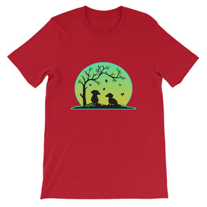 Dachshund Tree Of Life - Unisex/Men's T-shirt - WeeShopyDog