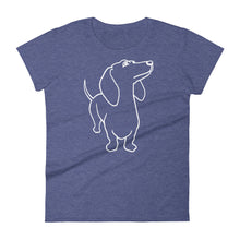 Load image into Gallery viewer, Dachshund - Women's T-shirt - WeeShopyDog