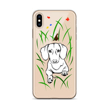 Load image into Gallery viewer, Dachshund Play Grass - iPhone Case