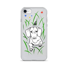 Load image into Gallery viewer, Dachshund Play Grass - iPhone Case - WeeShopyDog