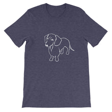 Load image into Gallery viewer, Dachshund Wonder - Unisex/Men's T-shirt - WeeShopyDog