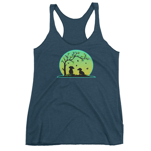 Dachshund Tree Of Life - Women's Tank Top - WeeShopyDog
