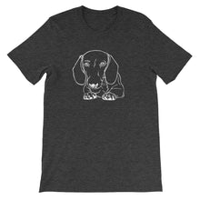 Load image into Gallery viewer, Dachshund Paws - Unisex/Men's T-shirt - WeeShopyDog