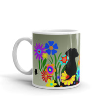 Load image into Gallery viewer, Dachshund Blossom - Mug - WeeShopyDog
