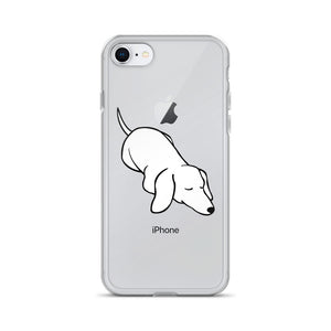 Dachshund Sleep - iPhone Case - WeeShopyDog