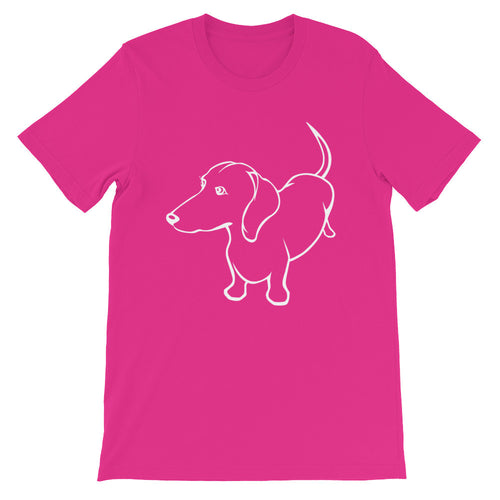 Dachshund Up - Unisex/Men's T-shirt - WeeShopyDog