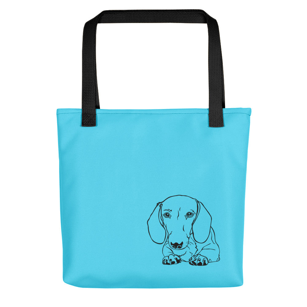 Dachshund Paw - Color Tote Bag - WeeShopyDog