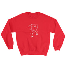 Load image into Gallery viewer, Dachshund Play - Sweatshirt - WeeShopyDog