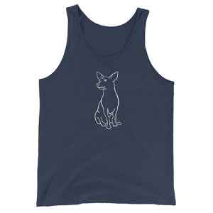 Chihuahua Dreamer - Unisex/Men's Tank Top - WeeShopyDog