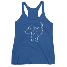Load image into Gallery viewer, Dachshund Up - Women's Tank Top - WeeShopyDog
