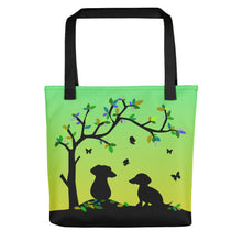 Load image into Gallery viewer, Dachshund Tree Of Life - Color Tote bag - WeeShopyDog