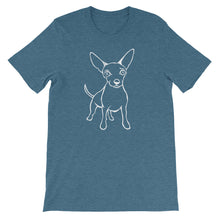 Load image into Gallery viewer, Chihuahua Wonder - Unisex/Men's T-shirt - WeeShopyDog