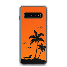 Load image into Gallery viewer, Dachshund Palm Tree - Samsung Case - WeeShopyDog