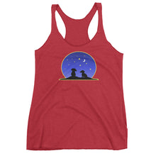 Load image into Gallery viewer, Dachshund Night Love - Women's Tank Top - WeeShopyDog