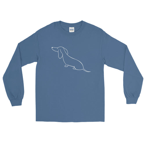 Dachshund View - Long Sleeve T-Shirt - WeeShopyDog
