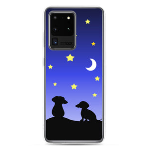 Dachshund Night Love - Samsung Case