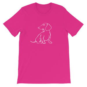 Dachshund Hope - Unisex/Men's T-shirt - WeeShopyDog