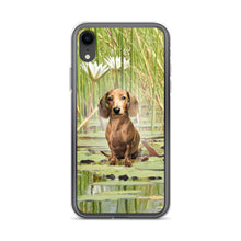 Load image into Gallery viewer, Dachshund Lotus - iPhone Case - WeeShopyDog