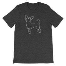 Load image into Gallery viewer, Chihuahua Smile - Unisex/Men's T-shirt - WeeShopyDog