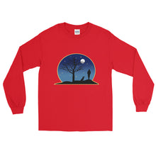 Load image into Gallery viewer, Dachshund Moon - Long Sleeve T-Shirt - WeeShopyDog