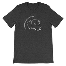 Load image into Gallery viewer, My Special Dachshund - Unisex/Men's T-shirt - WeeShopyDog