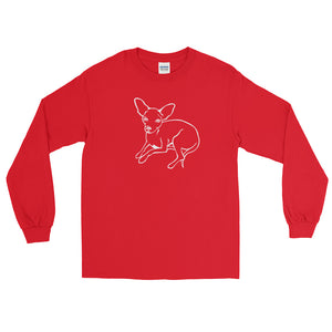 Chihuahua Love - Long Sleeve T-Shirt - WeeShopyDog