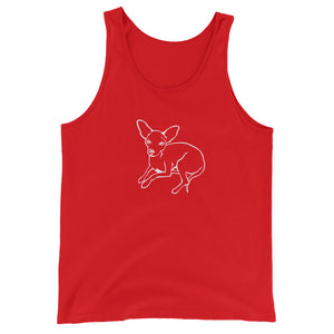 Chihuahua Love - Unisex/Men's Tank Top - WeeShopyDog