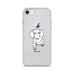 Dachshund Play - iPhone Case - WeeShopyDog