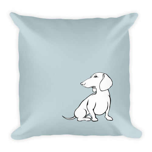 Dachshund Hope - Square Pillow - WeeShopyDog
