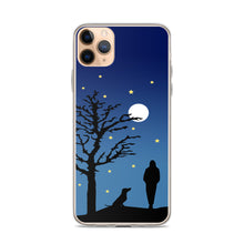 Load image into Gallery viewer, Dachshund Moon - iPhone Case