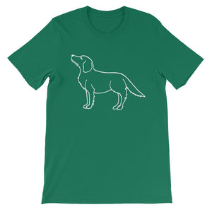 Golden Retriever Up - Unisex/Men's T-shirt - WeeShopyDog