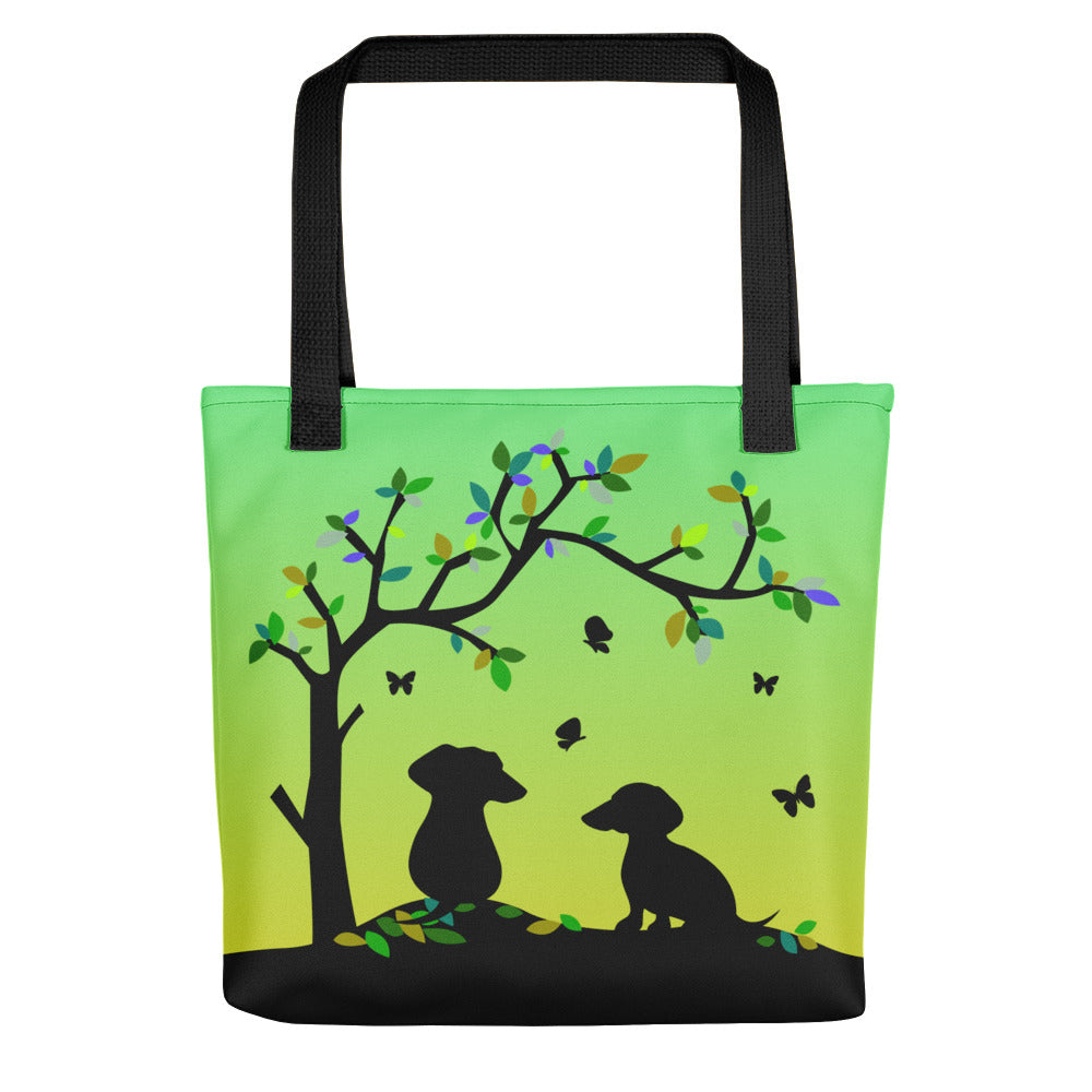 Dachshund Tree Of Life - Color Tote bag - WeeShopyDog
