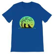 Load image into Gallery viewer, Dachshund Tree Of Life - Unisex/Men's T-shirt - WeeShopyDog