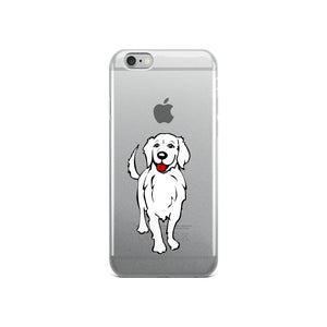 Golden Retriever Smile - iPhone Case - WeeShopyDog