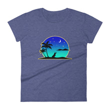 Load image into Gallery viewer, Dachshund Islands - Women's T-shirt - WeeShopyDog