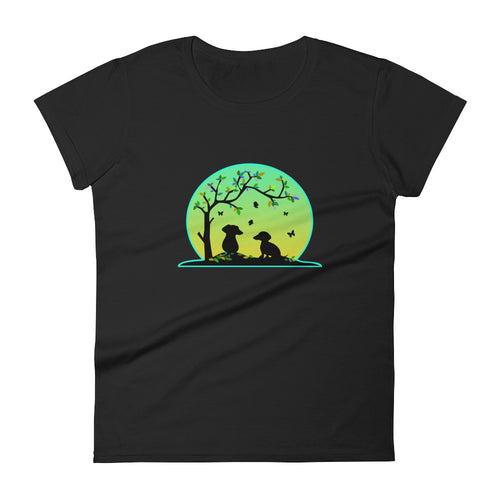 Dachshund Tree Of Life - Women's T-shirt - WeeShopyDog