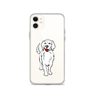Golden Retriever Smile - iPhone Case