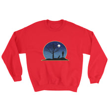 Load image into Gallery viewer, Dachshund Moon - Sweatshirt - WeeShopyDog