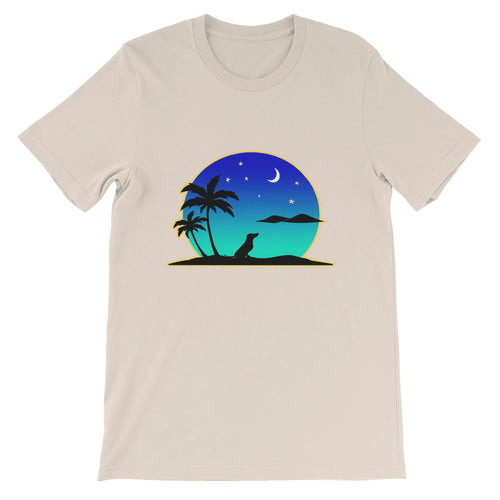 Dachshund Islands - Unisex/Men's T-shirt - WeeShopyDog