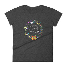 Load image into Gallery viewer, Dachshund Christmas Bells - Women's T-shirt - WeeShopyDog