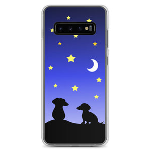 Dachshund Night Love - Samsung Case - WeeShopyDog