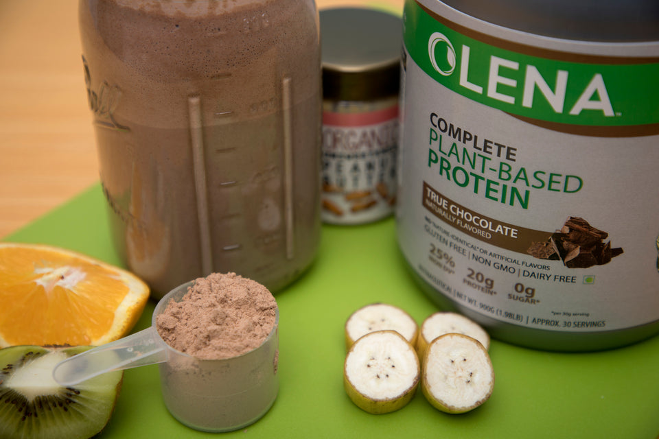 Olena's Peanut Butter Banana Smoothie